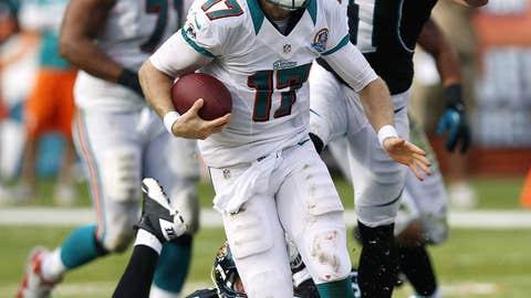 Miami: Giving quarterback Ryan Tannehill a better supporting cast