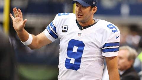 Dallas: Negotiating a long-term contract extension with quarterback Tony Romo