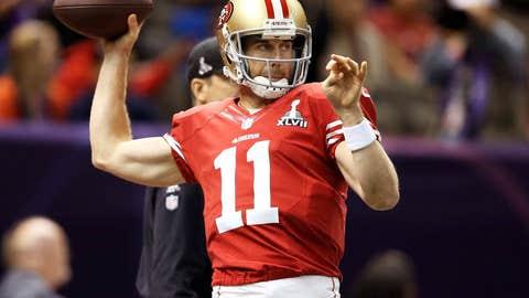 San Francisco: Trading quarterback Alex Smith