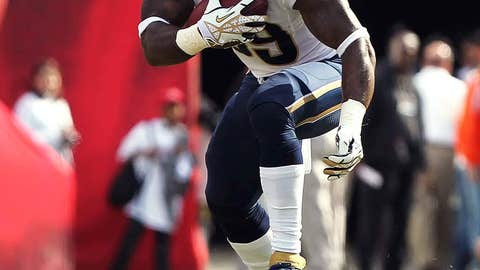 St. Louis: Saying hello or goodbye to running back Steven Jackson