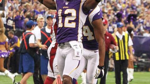 Minnesota: Determining wide receiver Percy Harvin's future