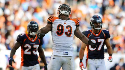 Bengals defensive end Michael Johnson