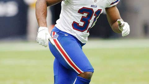 Bills free safety Jairus Byrd