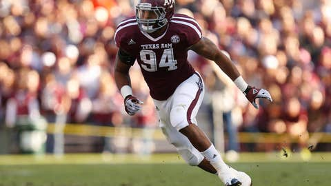 Damontre Moore, Defensive End, Texas A&M