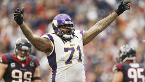 Phil Loadholt, Offensive Tackle, Minnesota Vikings