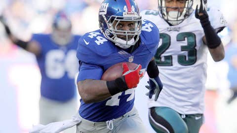 Ahmad Bradshaw, New York Giants