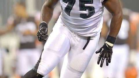 Philadelphia defensive end Vinny Curry (2012 second round/Marshall)