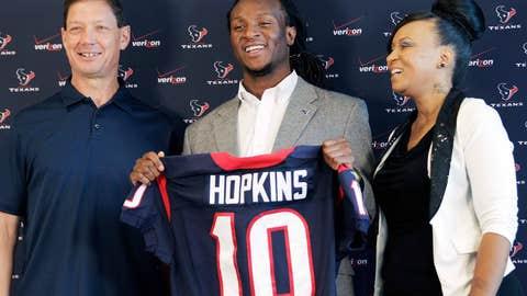 WR DeAndre Hopkins, Texans