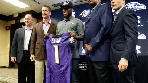 S Matt Elam, Ravens