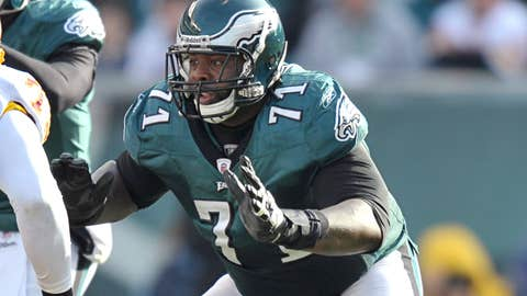 Philadelphia left tackle Jason Peters