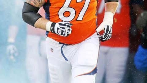 Dan Koppen, C, Broncos