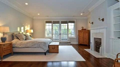 That's gotta be the master bedroom