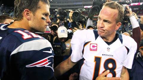 Broncos at Patriots, Nov. 24, 8:30 p.m. ET