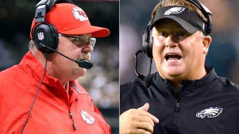 Chiefs at Eagles, Sept. 19, 8:25 p.m. ET