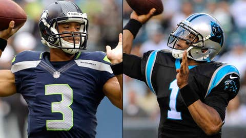 Seattle Seahawks at Carolina Panthers (Sunday, 1 p.m. ET, FOX)