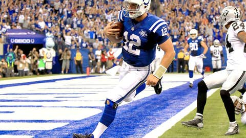 Colts 21, Raiders 17