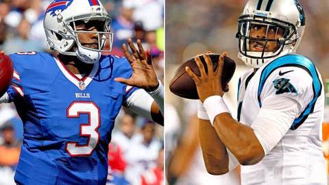 Carolina Panthers at Buffalo Bills (Sunday, 1 p.m. ET, FOX)