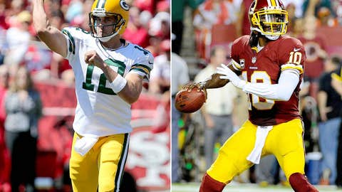 Washington Reskins at Green Bay Packers (Sunday, 1 p.m. ET, FOX)