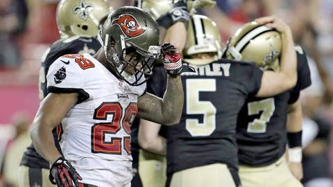 Saints 16, Buccaneers 14