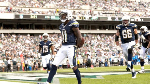 Chargers 33, Eagles 30