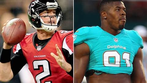 Atlanta Falcons at Miami Dolphins (Sunday, 4:05 p.m. ET, FOX)