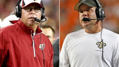 Arizona Cardinals at New Orleans Saints (Sunday, 1 p.m. ET, FOX)