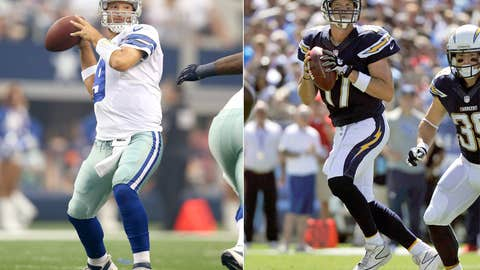 Dallas Cowboys at San Diego Chargers (Sunday, 4:25 p.m. ET, FOX)