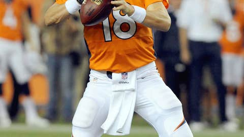 Philadelphia Eagles at Denver Broncos (Sunday, 4:25 p.m. ET, FOX)