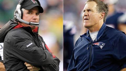 New England Patriots at Atlanta Falcons (Sunday, 8:30 p.m. ET, NBC)
