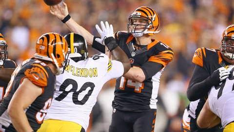 Cincinnati Bengals at Cleveland Browns (Sunday, 1 p.m. ET, CBS)