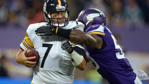Vikings 34, Steelers 27