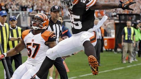 Browns 17, Bengals 6
