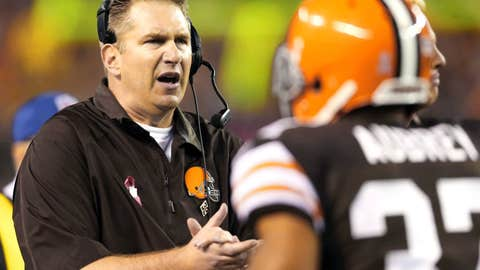 Cleveland Browns (4-5), C+