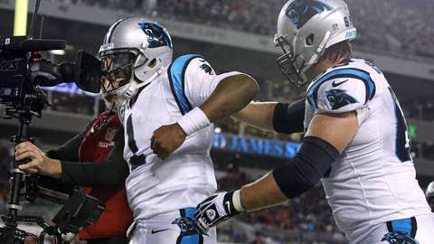 Carolina Panthers (5-3), B