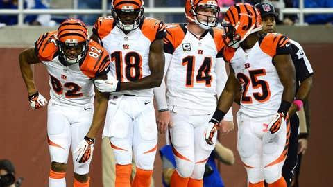 Cincinnati Bengals (6-3), A-
