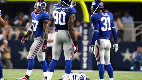Oakland Raiders at New York Giants (Sunday, 1 p.m. ET, CBS)
