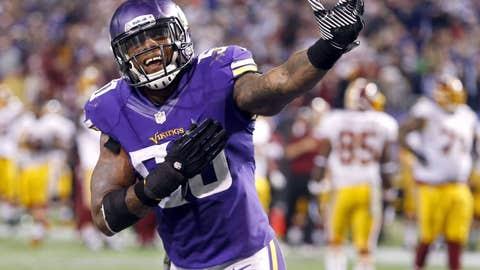 Vikings 34, Redskins 27
