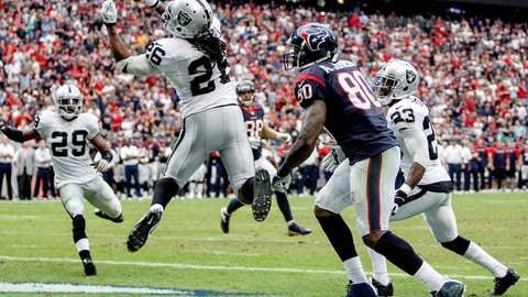Raiders 28, Texans 23