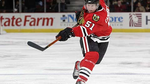 Brian Campbell, Chicago Blackhawks