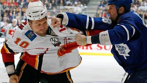 Colton Orr, Toronto Maple Leafs