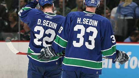 Daniel and Henrik Sedin