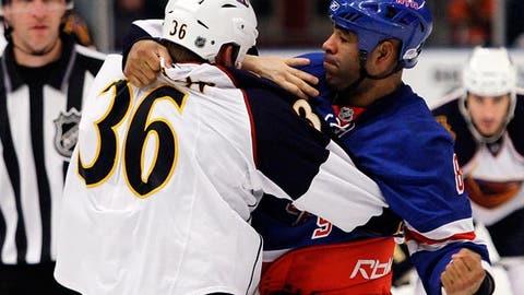 Donald Brashear, NY Rangers