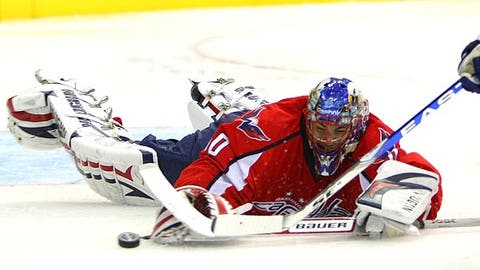 Goalie controversy in Washington?