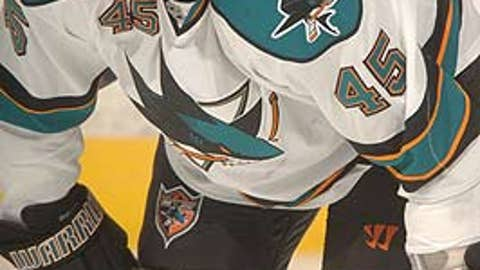 Jody Shelley, San Jose Sharks
