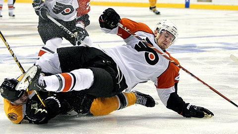 Philadelphia Flyers, Boston Bruins (Getty Images)