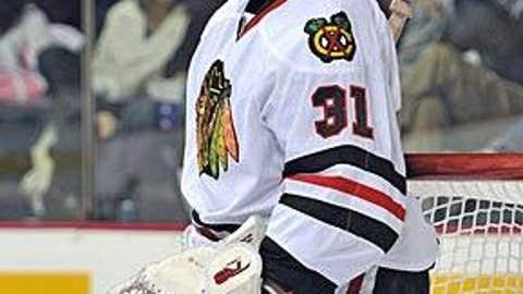 Blackhawks' goalie woes