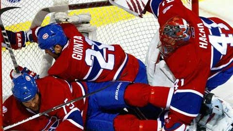Three-Hab pileup