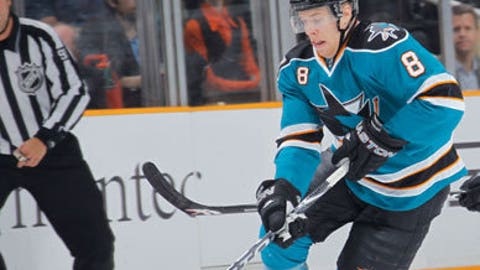Joe Pavelski, Sharks