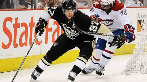 Sidney Crosby, C; Pittsburgh — 79 points