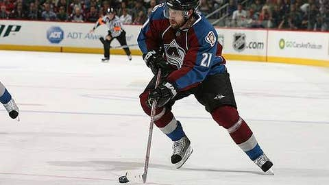 Peter Forsberg, C; Colorado, Philadelphia, Nashville, Colorado — 92 points